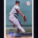 1996 Topps Baseball #378 Andy Pettitte - New York Yankees