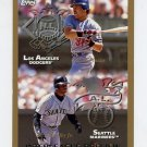 1998 Topps Baseball #479 Interleague Preview with Mike Piazza and Ken Griffey Jr.