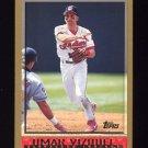 1998 Topps Baseball #033 Omar Vizquel - Cleveland Indians