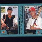 2001 Topps Baseball #741 Tommy Arko RC / Dan Moylan RC