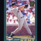 2001 Topps Baseball #550 Jeff Kent - San Francisco Giants