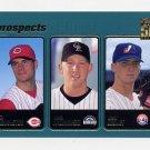 2001 Topps Baseball #365 Ty Howington / Josh Kalinowski / Josh Girdley