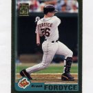 2001 Topps Gold Baseball #043 Brook Fordyce - Baltimore Orioles 0968/2001