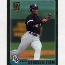 2001 Topps Gold Baseball #011 Chris Singleton - Chicago White Sox 0642/2001