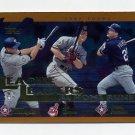 2002 Topps Baseball #339 Alex Rodriguez / Jim Thome / Rafael Palmeiro