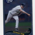 2002 Topps Chrome Baseball #148 Esteban Yan - Tampa Bay Devil Rays