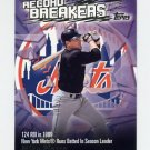 2003 Topps Record Breakers Baseball #MP Mike Piazza - New York Mets