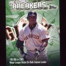 2003 Topps Record Breakers Baseball #BB2 Barry Bonds - San Francisco Giants