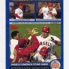 2003 Topps Baseball #349 AL Division Anaheim Angels