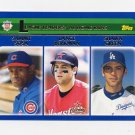 2003 Topps Baseball #345 NL Home Runs LL Sammy Sosa / Lance Berkman / Shawn Green