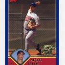 2003 Topps Baseball #319 Scott Tyler RC - Minnesota Twins
