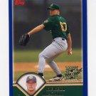 2003 Topps Baseball #318 Derell McCall RC - Oakland A's