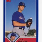2003 Topps Baseball #313 C.J. Wilson - Texas Rangers