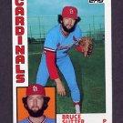 1984 Topps Baseball #730 Bruce Sutter - St. Louis Cardinals