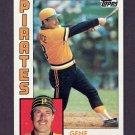 1984 Topps Baseball #729 Gene Tenace - Pittsburgh Pirates
