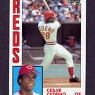 1984 Topps Baseball #725 Cesar Cedeno - Cincinnati Reds