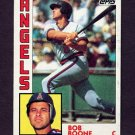 1984 Topps Baseball #520 Bob Boone - California Angels