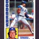 1984 Topps Baseball #220 Fernando Valenzuela - Los Angeles Dodgers