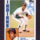 1984 Topps Baseball #048 Julio Franco - Cleveland Indians