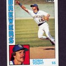 1984 Topps Baseball #010 Robin Yount - Milwaukee Brewers