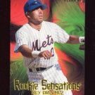 1997 Fleer Baseball Rookie Sensations #10 Rey Ordonez - New York Mets