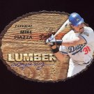 1997 Fleer Baseball Lumber Company #13 Mike Piazza - Los Angeles Dodgers