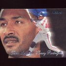 1997 Fleer Baseball Team Leaders #22 Henry Rodriguez - Montreal Expos