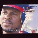 1997 Fleer Baseball Team Leaders #05 Albert Belle - Cleveland Indians