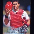 1997 Fleer Baseball Tiffany #420 Benito Santiago - Philadelphia Phillies