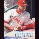 1997 Fleer Baseball Tiffany #294 Willie Greene - Cincinnati Reds