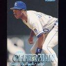 1997 Fleer Baseball Tiffany #118 Jose Offerman - Kansas City Royals
