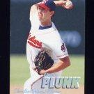 1997 Fleer Baseball Tiffany #086 Eric Plunk - Cleveland Indians