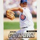 1997 Fleer Baseball #752 Jeremi Gonzalez RC - Chicago Cubs