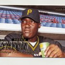 1997 Fleer Baseball #597 T.J. Staton RC - Pittsburgh Pirates