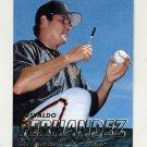1997 Fleer Baseball #549 Osvaldo Fernandez - San Francisco Giants