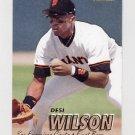 1997 Fleer Baseball #490 Desi Wilson - San Francisco Giants
