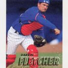 1997 Fleer Baseball #378 Darrin Fletcher - Montreal Expos