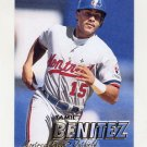 1997 Fleer Baseball #376 Yamil Benitez - Montreal Expos