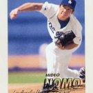 1997 Fleer Baseball #368 Hideo Nomo - Los Angeles Dodgers