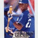 1997 Fleer Baseball #358 Roger Cedeno - Los Angeles Dodgers