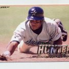 1997 Fleer Baseball #347 Brian Hunter - Houston Astros