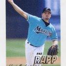 1997 Fleer Baseball #334 Pat Rapp - Florida Marlins
