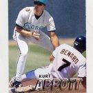 1997 Fleer Baseball #323 Kurt Abbott - Florida Marlins