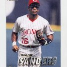1997 Fleer Baseball #303 Reggie Sanders - Cincinnati Reds