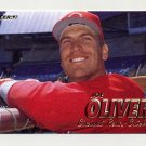 1997 Fleer Baseball #300 Joe Oliver - Cincinnati Reds