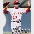 1997 Fleer Baseball #298 Hal Morris - Cincinnati Reds