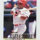 1997 Fleer Baseball #297 Kevin Mitchell - Cincinnati Reds