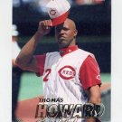 1997 Fleer Baseball #295 Thomas Howard - Cincinnati Reds