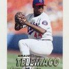 1997 Fleer Baseball #286 Amaury Telemaco - Chicago Cubs