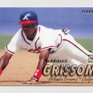 1997 Fleer Baseball #256 Marquis Grissom - Atlanta Braves